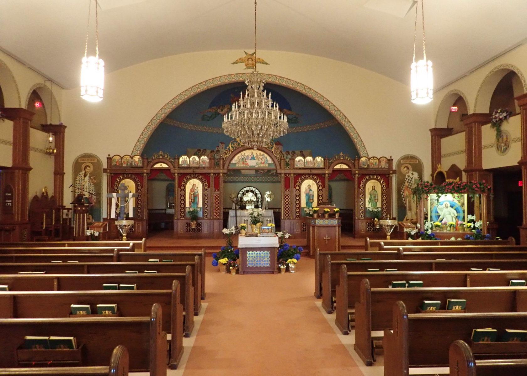 Byzantine Liturgy with Bishop Ľach