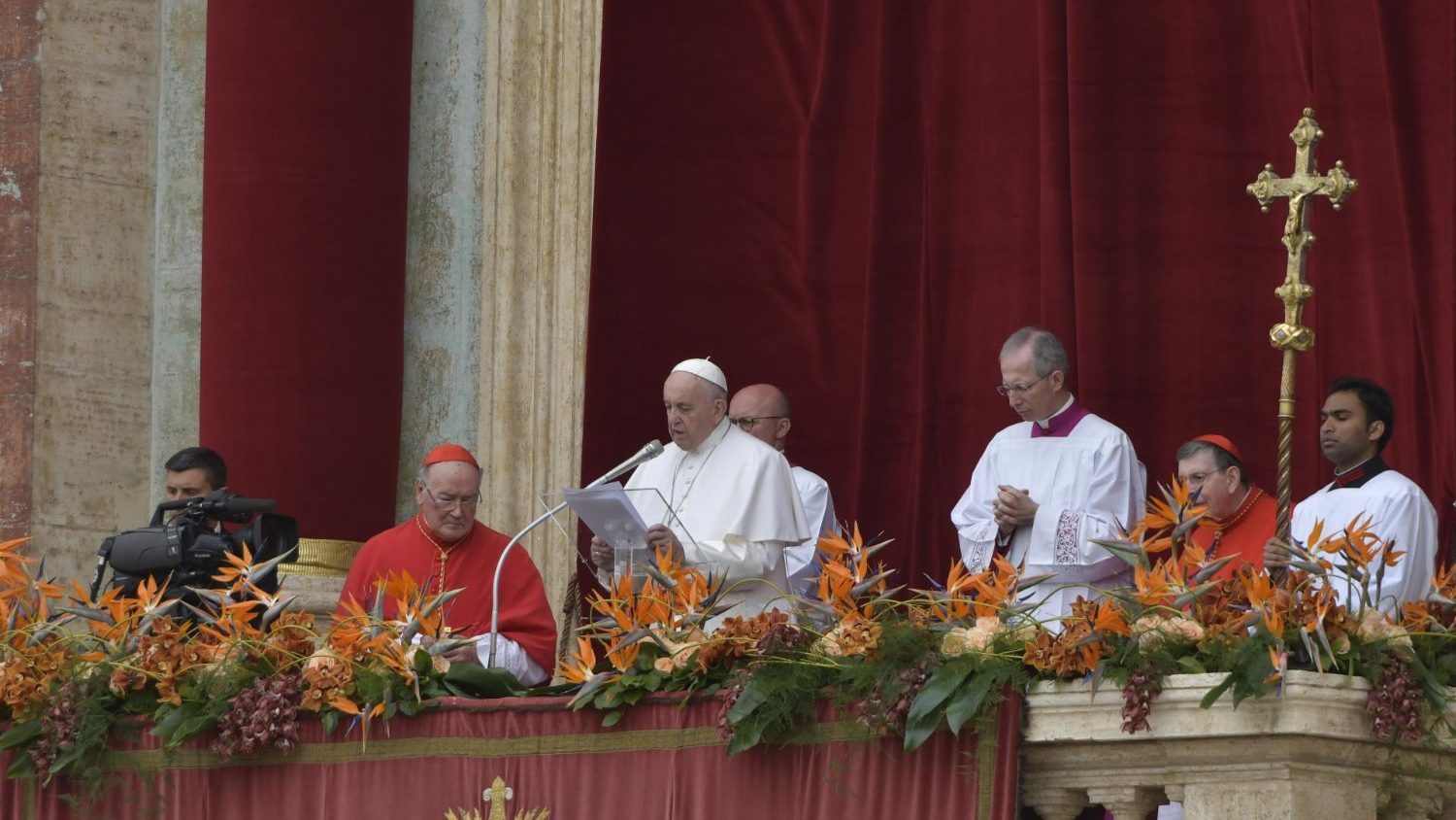 URBI ET ORBI Message Of Pope Francis – Easter 2019