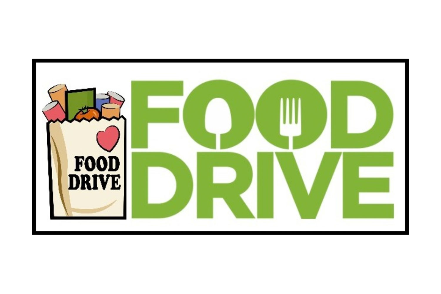 Drop Off Food Drive & Flag Retirement Collection