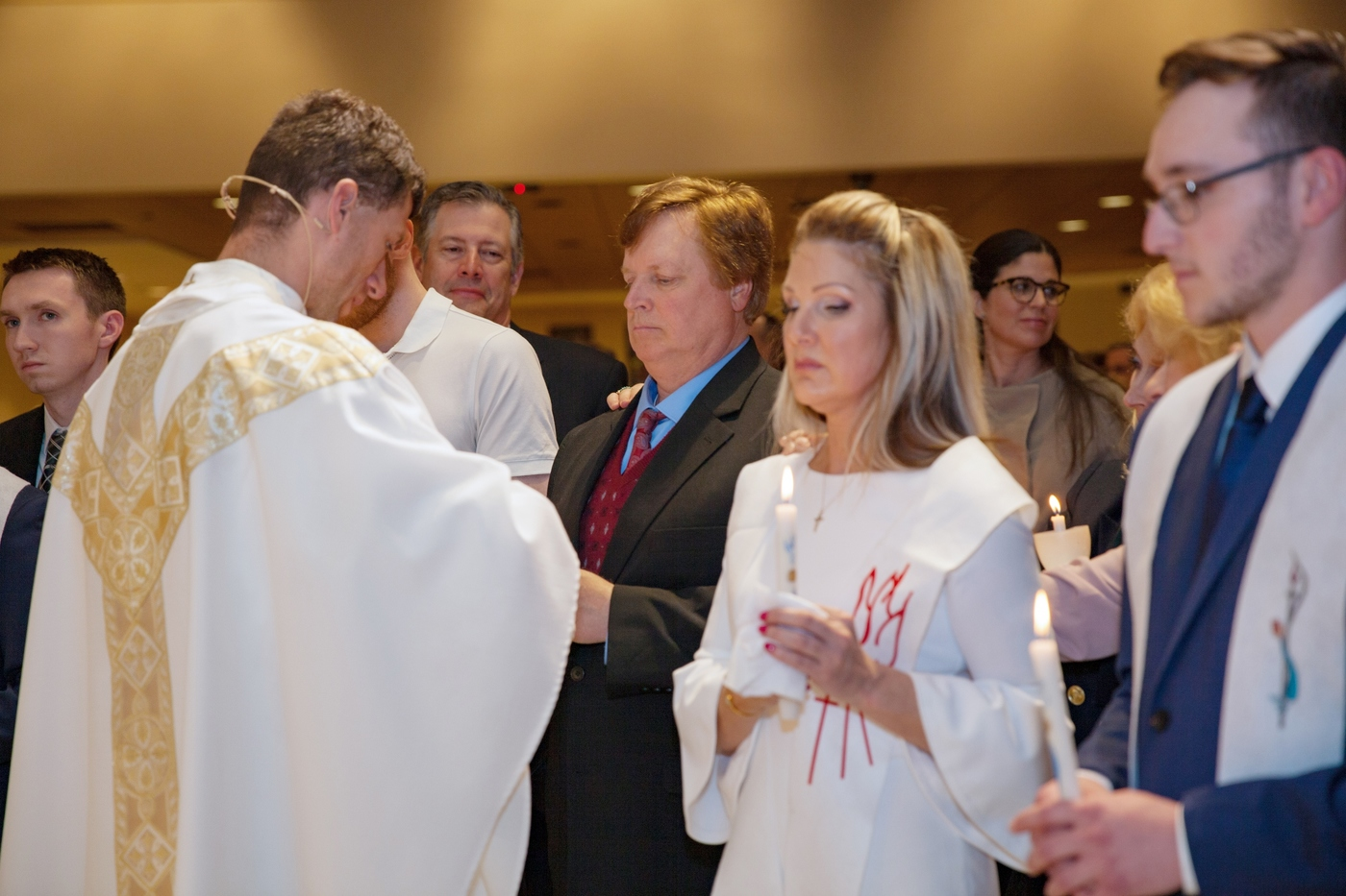 Baptism of the Catechumens and Reception into the Catholic Church