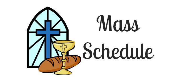 Thanksgiving Mass Schedule